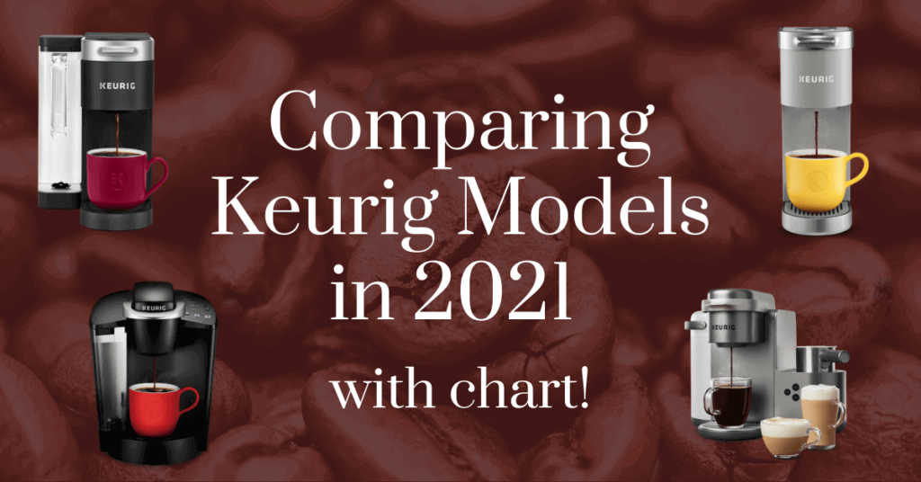 Comparing Keurig Models in 2021 with chart